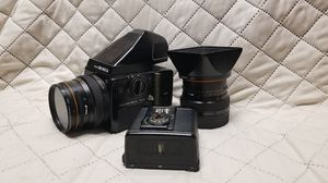 Bronica sq-ai 6x6 w/two lenses working for Sale in Queens, NY