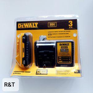 Dewalt 3.0 battery/charger kit for Sale in Fullerton, CA