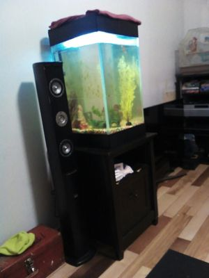Fish tank and stand make a offer for Sale in Martinsburg, WV