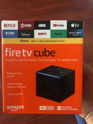 Fire TV Cube Brand New for Sale in Flamingo, FL
