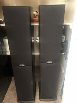 POLK AUDIO POWER TOWER HOME STEREO SPEAKERS WITH SUBWOOFER for Sale in Raleigh, NC