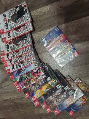 nintendo switch games 35 each for Sale in Los Angeles, CA