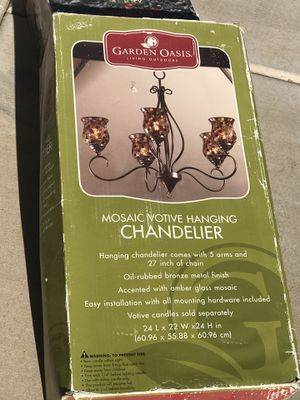 Chandelier for candles for Sale in Laveen Village, AZ