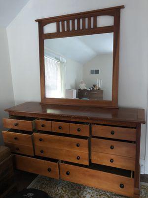 Beautiful wooden dresser! for Sale in NEW KENSINGTN, PA