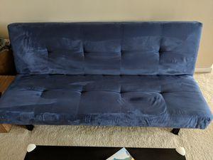 Ikea Balkarp Sleeper Sofa Blue - buyer on the way for Sale in Bellaire, TX