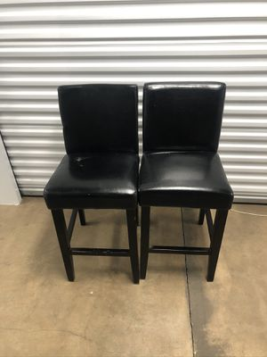 Two black chairs for Sale in Columbus, OH