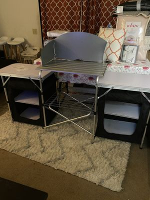 Folding grill table new for Sale in Garden Grove, CA