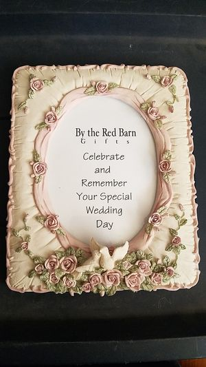 Wedding day picture frame for Sale in Tacoma, WA