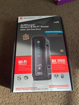 Wifi Modem/router combo Motorola Arris for Sale in San Diego, CA