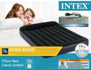 Full size air mattress/ Air bed $50 OBO for Sale in Onancock, VA