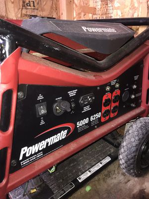 Power mate 5000 generator for Sale in Arlington, VA