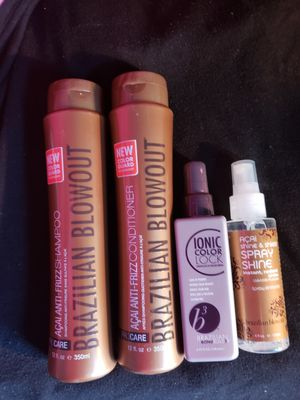 Brazilian Blowout Set! for Sale in Carlisle, MA
