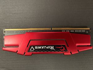 G. Skill Ripsaw DDR4 8gb RAM Stick for Sale in East Amwell Township, NJ