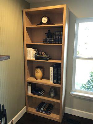 2 bookshelves (solid wood) for Sale in Kirkland, WA