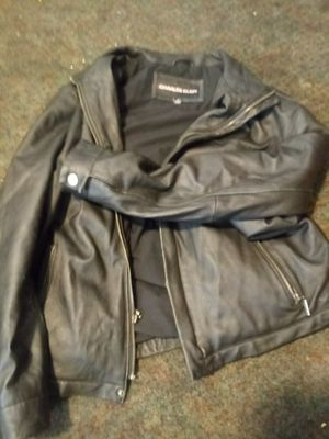 Charles klein, leather jacket, women's sz small for Sale in Salt Lake City, UT