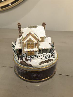 Porcelain Thomas Kinkade music box for Sale in Houston, TX