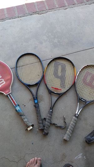 4 Tennis rackets for Sale in Palmdale, CA