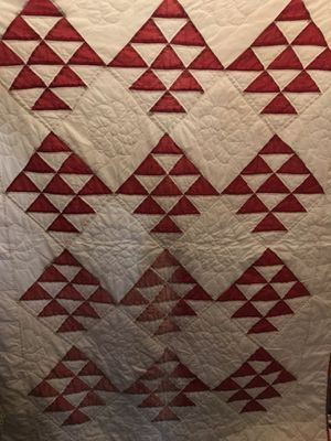 Vintage machine stitch quilt for Sale in Kent, WA