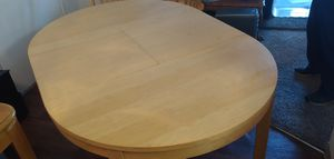 Dining Room Table with leaf stored inside for Sale in Tigard, OR