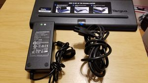 Targus Universal Docking Station USB 3.0 DisplayLink HDMI DVI Dual Video Display ACP71USZ for Sale in Chino Hills, CA