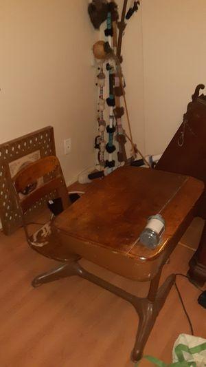 old-fashioned antique desk for Sale in Glendale, AZ