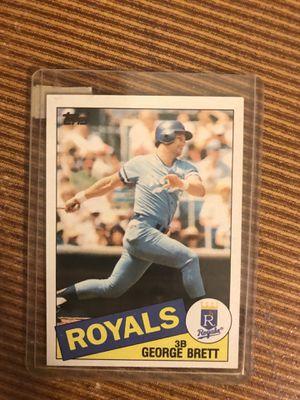Topps George Brett baseball card for Sale in Wake Forest, NC