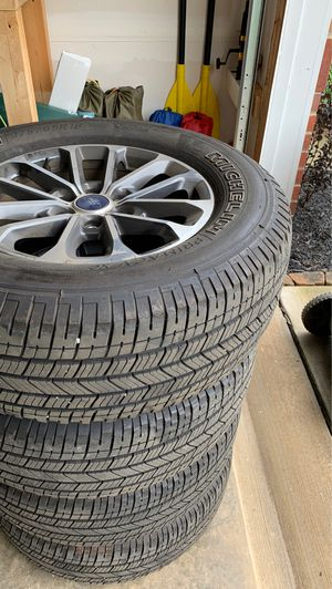 F150 tires less than 10k miles for Sale in Charlottesville, VA