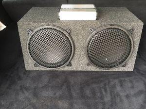 JL Audio 12w3's and 1800 watt Kicker Amp for Sale in Mount Vernon, WA