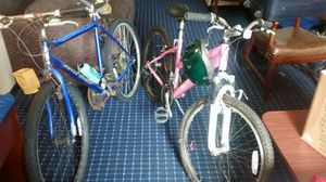Two mountain bikes for Sale in Cleveland, OH