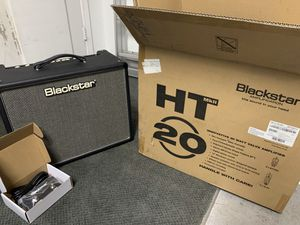 "Blackstar HT20R MKII 2-channel 20 Watt 1x12"" Guitar Combo Amp with Reverb n Foot Switch for Sale in Redondo Beach, CA"