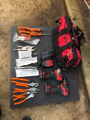 All for $425 is all new except for the drills are almost new for Sale in Glendale Heights, IL