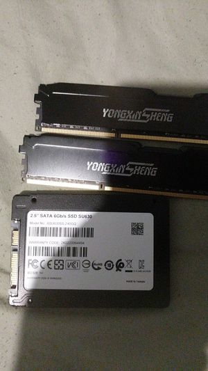 Ssd and ram for Sale in Garfield Heights, OH