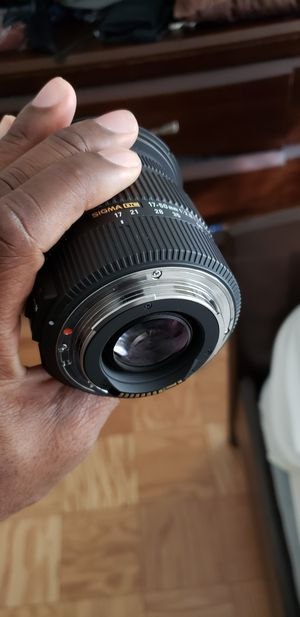 Sigma lens for Canon camera for Sale in Brooklyn, NY
