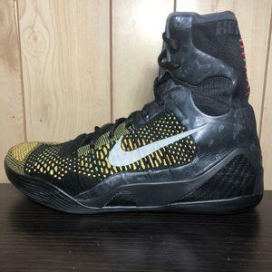 Nike Kobe 9 Elite Inspire Inspiration Black Volt Sz 10.5 BHM All Star for Sale in Lincoln, RI
