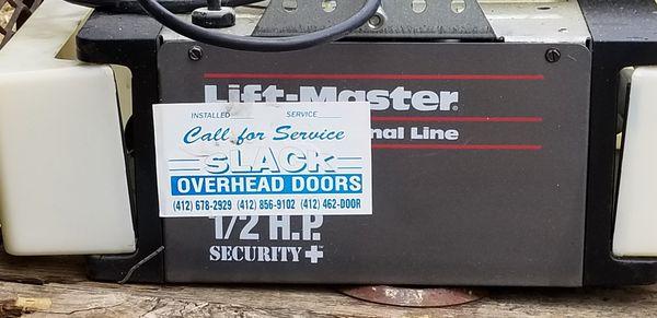 Garage Door Opener LIFTMASTER 1/2 HP