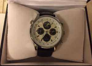 Rousseau watch - leather band for Sale in Alexandria, VA