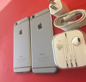 iPhone 6 16gb Unlocked Excellent Condition $109 each for Sale in Durham, NC