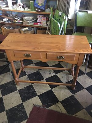 OAK SOFA TABLE for Sale in York, PA