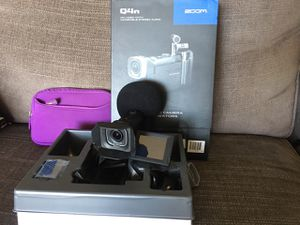 Zoom Q4n Concert Video Camera AB XY Stereo Microphone for Sale in Tempe, AZ