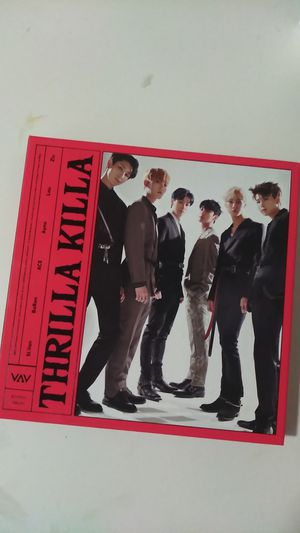 VAV Thrilla Killa Album(With photocard and postcard) for Sale in Grand Prairie, TX