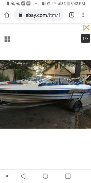 1987 Bayliner Capri sacrifice $1300 was running for Sale in Playa del Rey, CA