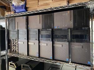 Dell Optiplex i3 and i5 8gb Ram SSD Windows 10 Computers for Sale in Savannah, GA