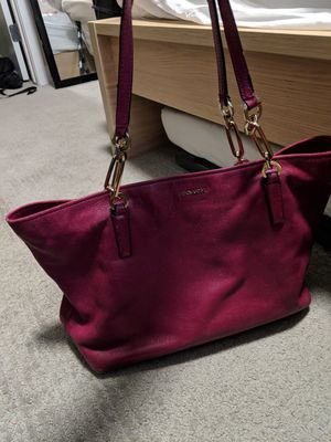 Coach Berry colored purse Authentic for Sale in Denver, CO
