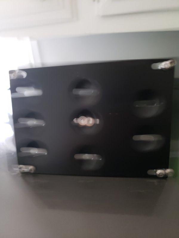 front bumper tag holder for audi