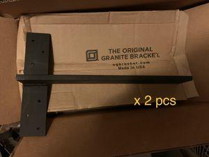"Paired of Free hanging shelf bracket floating vanity heavy duty 18"" stud mount for Sale in Lawndale, CA"