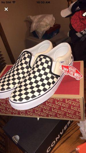 Checkered Slip On Vans for Sale in Peck, KS