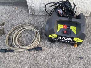 rioby 1600 psi electric pressure washer for Sale in Westminster, CA
