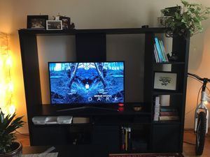 TV Stand with Shelves for Sale in Seattle, WA