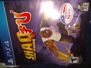 Shaq Fu Arcade game PS4 New for Sale in Acworth, GA