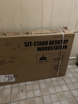 Steady stand Sit/ stand desk for Sale in Philadelphia,  PA